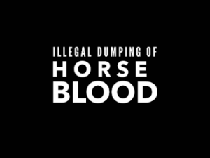 Illegal Dumping of Horse Blood